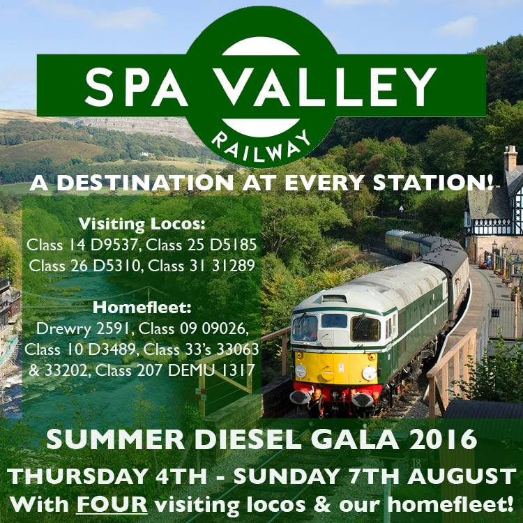 Spa Valley Gala Ad